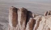"""بالصور.. جبال """" طويق """" ذات الطبيعة الخلابة في الرياض"""