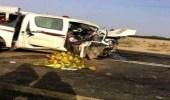 بالصور.. حادث تصادم يتسبب في مقتل 6 أشخاص بالجموم