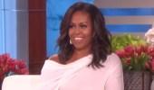 بالفيديو.. ميشيل أوباما تكشف عن هدية ميلانيا ترامب المحرجة