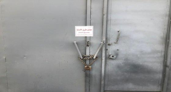 إغلاق 8 مستودعات مخالفة بحي الخالدية