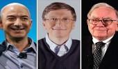 خسارة جماعية فادحة لأغنى ثلاثة رجال في العالم