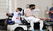 محمد آل فتيل يُغادر إلى المستشفى بعد إصابته في مرفق اليد