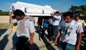 بالصور.. مصرع 13 شخصا إثر تحطم طائرة وزير الداخلية المكسيكي