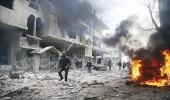 تجدد القصف الجوي على الغوطة الشرقية بـ7 غارات و4 براميل متفجرة