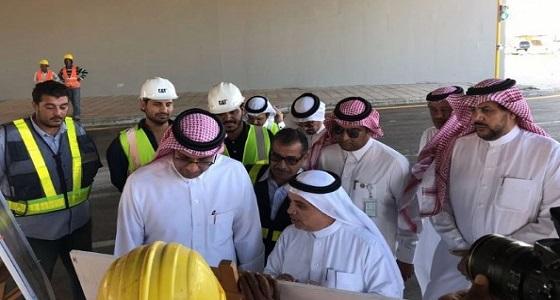 نائب وزير النقل يتفقد طرق مكة المكرمة