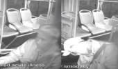 بالفيديو..لحظة وفاة سائق حافلة نقل جماعي أثناء القيادة