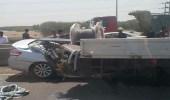 إصابة 3 أشخاص إثر اصطدام مركبات بطريق الحرمين