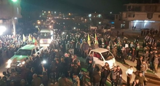 أهالي عفرين يتظاهرون منددين بالاحتلال التركي
