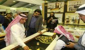 وصول وفد وزارة شئون الرئاسة الإماراتية إلي الجناح السعودي بمعرض القاهرة للكتاب