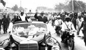 صورة نادرة للملك فيصل أثناء زيارته لموريتانيا