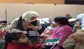 بالصور.. رحلة مكوكية لفتاة سعودية لدعم الأطفال اللاجئين حول العالم