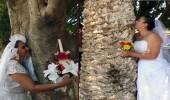 """بالصور.. في المكسيك """" الزواج من شجرة """" تثمينًا لقيمة الأرض"""