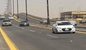 """"""" المرور """" تخفض سرعة الطريق على جسر الخليج إلى 50 كلم"""