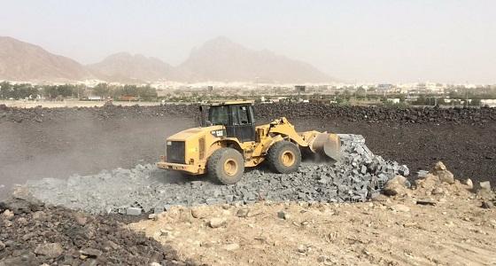 استعادة 811 ألف متر مربع من الأراضي الحكومية ببلديات المدينة