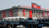 صاروخ غامض يظهر في عرض عسكري بكوريا الشمالية