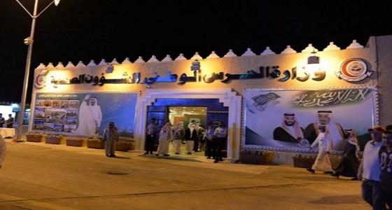 بالصور.. 200 متبرع بالدم في جناح الملك عبدالعزيز الطبية بالجنادرية