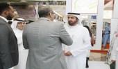 """"""" الربيعة """" يزور جناح مجموعة مستشفيات السعودي الألماني بمعرض الصحة بدبي"""