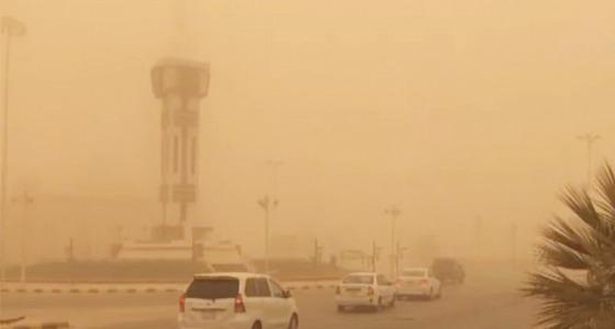 موجة غبارية مصاحبة لرياح نشطة على المدينة المنورة