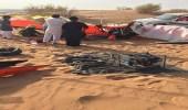 """تحطم طائرة في """" ثمامة الرياض """" ووفاة قائديها"""