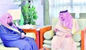أمير الرياض يستقبل رئيسي محكمة الاستئناف وجمعية الإسكان