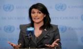 هيلي: لايمكن السماح باستخدام السلاح الكيماوي في سوريا دون عقاب