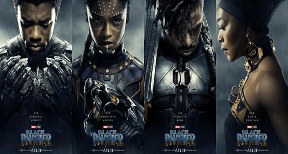 فيلم Black Panther يثير ضجة بأرقامه القياسية قبل عرضه عالميا
