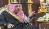 أمير الباحة يستقبل ذوي الشهيد عبدالله الزهراني