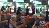 بالفيديو.. ضبط 18 عاملًا يمارسون البيع الجائل بالبطحاء
