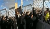 بالفيديو.. مظاهرات غاضبة في إيران بعد فشل العثور على أشلاء ضحايا الطائرة