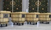 بالصور.. توفير 550 مشربية لمياه زمزم لزوار المسجد الحرام