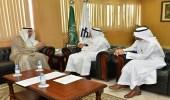 محافظ النعيرية يلتقي مدير جامعة الإمام عبدالرحمن