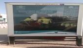 بالصور.. نشر إعلانات توعية بطرق الرياض