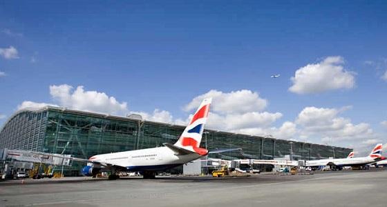 حادث خطير بين طائرتين بمطار هيثرو في لندن