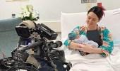 مقدمة برامج تبث ولادتها القيصرية على الهواء