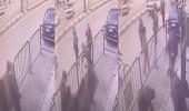 بالفيديو.. رجل شرطة مصري ينقذ طفلا سقط من الطابق الثالث