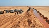 الجيش التونسي يقبض على عنصر مسلح حاول اجتياز الحدود التونسية الليبية