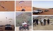"""العثور على المفقود """" السلمي """" بعد 4 أيامه من غيابه بصحراء تبوك"""