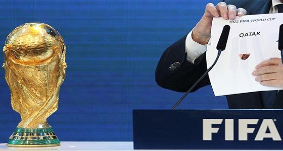 """كارثة.. """" فيفا """" يستعد لسحب مونديال 2022 من قطر.. وهذه البلدان البديل"""