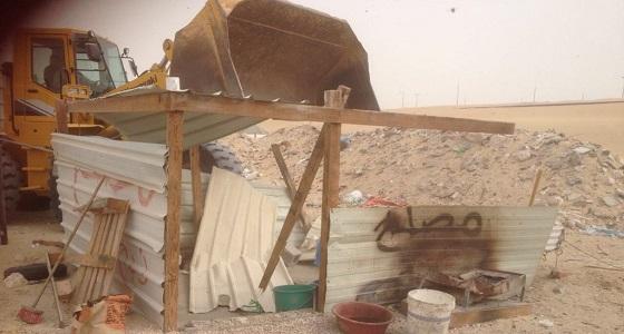 ضبط عمالة سائبة تذبح المواشي دون رقابة بغرب الدمام