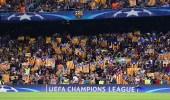 برشلونة ترفض استضافة مبارة الأرجنتين وكتالونيا