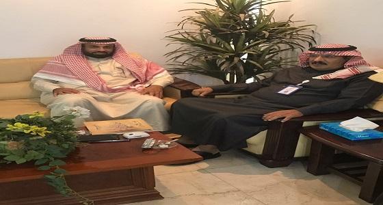 الزهراني يتسلم تقريرين عن أعمال تراحم مكة الاجتماعية والإنسانية