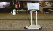روبوت آلي لنقل فعاليات جناح المملكة للخارج بمعرض القاهرة للكتاب