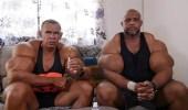 """"""" هوس العضلات """" .. شقيقان يحقنان جسديهما بعلاج الخيل والأبقار"""