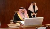 بالصور.. أمير عسير يترأس اجتماع لجنة التوطين