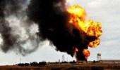 كتائب الشهيد محيي الدين ال ناصر تستهدف أكبر منشأة نفطية إيرانية