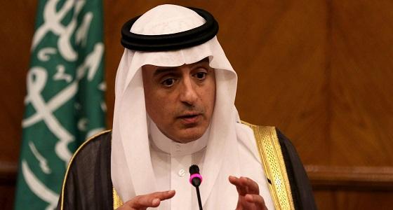 """"""" الجبير """" يؤكد على دعم المملكة الدائم للعراق"""