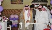 افتتاح البازار الثاني للأسر المنتجة برعاية رئيس مركز ثلوث المنظر