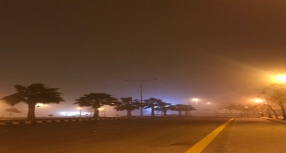 بالفيديو والصور..موجة غبار تعكر أجواء الرياض