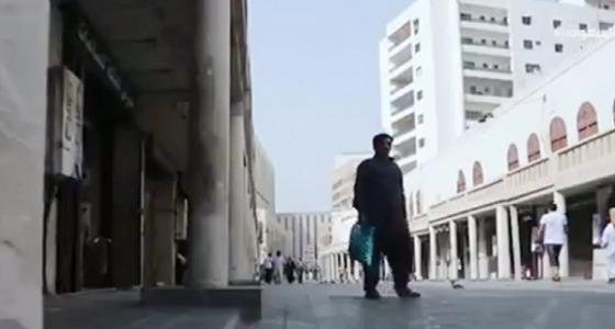 """بالفيديو.. شارع """" قابل """" ينبض بالحياة في جدة"""