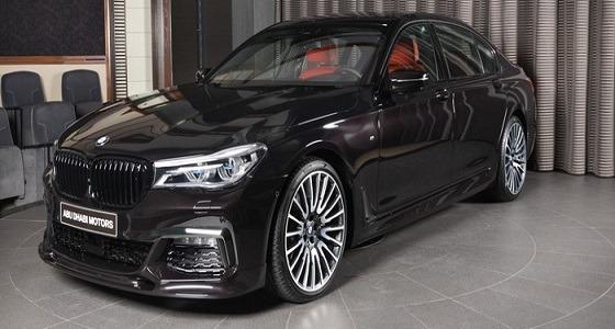 انطلاق BMW 730Li بلون أسود ميتاليك روبي في أبوظبي